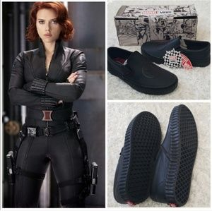 Marvel disney Black widow avengers vans shoes